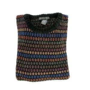 Geoffrey Beene Textured Chenille Pullover Sweater